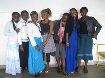 les filles de la faculté des  technologies ULPGL GOMA