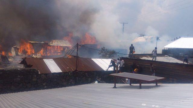 maisons brulées au quartier MABANGA SUD (1)