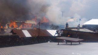 maisons brulées au quartier MABANGA SUD (4)