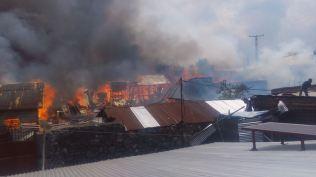 maisons brulées au quartier MABANGA SUD (6)